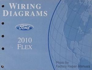 2010 ford flex electrical wiring diagrams original factory manual rh factoryrepairmanuals com 2012 Ford Flex Ford Flex Seating