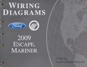 2009 ford escape mercury mariner electrical wiring diagrams gas 1937 ford wiring diagram wiring diagrams ford mercury 2009 escape, mariner