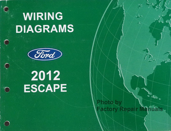 2012 ford escape electrical wiring diagrams manual