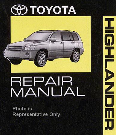 2011 toyota highlander factory repair manual 6 volume set original rh factoryrepairmanuals com 2016 Toyota Highlander Owner Manual Toyota 4Runner