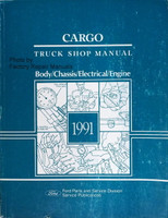 1991 Ford Cargo Truck Shop Manual Body/Chassis/Electrical/Engine