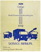Ford Cargo Body/Chassis/Electrical/Engine 1992 Service Manual