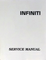 2004 Infiniti FX35 / FX45 Factory Service Manual 6 Vol Set