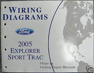 2005 ford explorer sport trac electrical wiring diagrams manual rh factoryrepairmanuals com 2005 ford explorer manual free 2005 ford explorer owners manual pdf