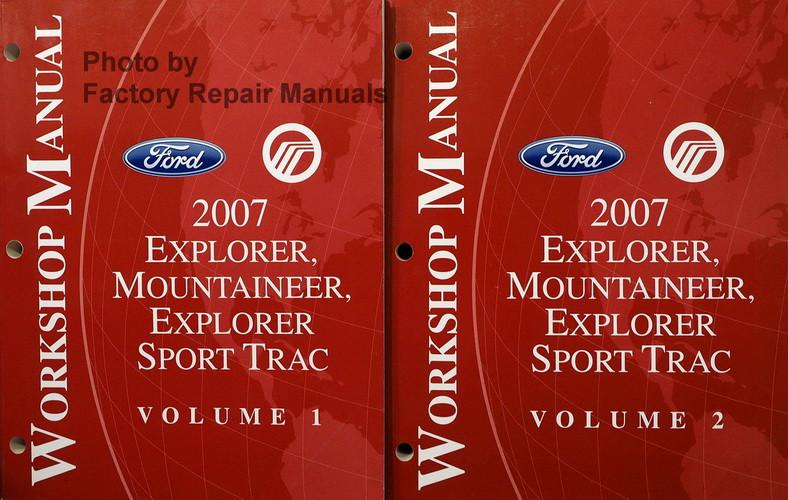 2007 Ford Explorer  Sport Trac  Mercury Mountaineer