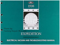 1998 Ford Expedition Electrical Vacuum and Troubleshooting Manual