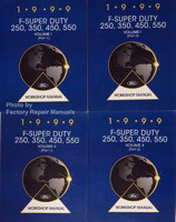 1999 F-Super Duty 250, 350, 450, 550 Volume 1 and 2 Ford Workshop Manual