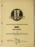 White Model 2-55 2-65 and 2-75 Tractor I&T Shop Manual # W-5 1986 Service Repair