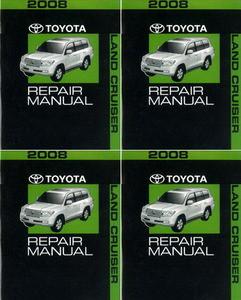 2008 toyota land cruiser factory service repair manual 4 volume set rh factoryrepairmanuals com Car Repair Manuals 2007 Toyota Yaris Diagrams