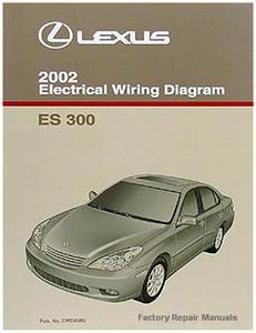 2002 lexus es300 electrical wiring diagrams original es 300 manual rh factoryrepairmanuals com es300h owners manual pdf lexus es300h repair manual