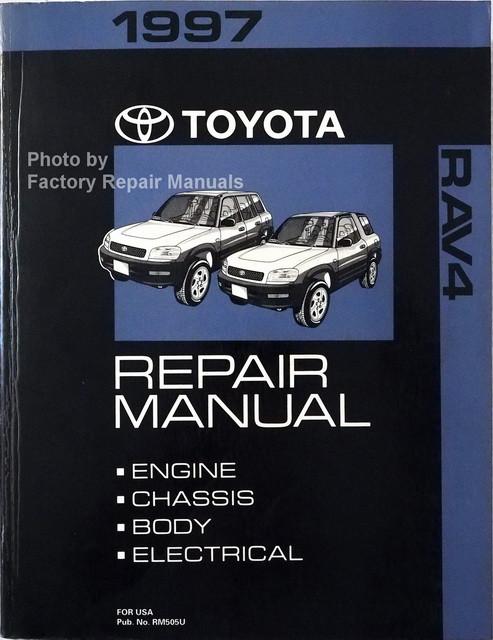 1997 toyota rav4 factory service manual original shop repair rh factoryrepairmanuals com 2000 RAV4 1996 RAV4
