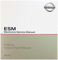 2014 Nissan  NV 1500 2500 3500 Van Electronic Service Information ESM