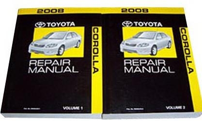 2008 toyota corolla repair manual
