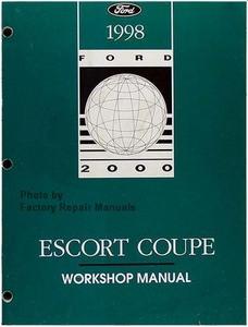 1998 ford escort zx2 coupe factory service manual original shop rh factoryrepairmanuals com 2002 Ford Explorer Repair Manual 2002 Ford Explorer Repair Manual
