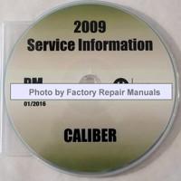 2009 Service Information Caliber