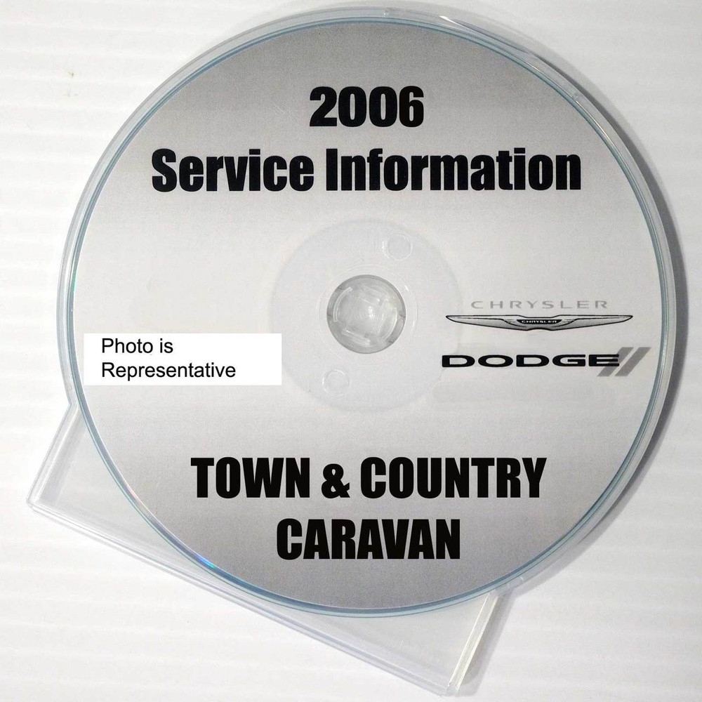 2006 chrysler town country dodge caravan factory service manual cd rh factoryrepairmanuals com Auto Repair Manual Clymer Manuals