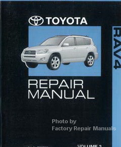 Toyota manual repair 2007 rav4 pdf