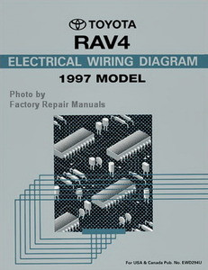 1997 toyota rav4 electrical wiring diagrams original rav 4