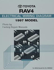 1997 Toyota RAV4 Electrical Wiring Diagrams Original RAV 4 Manual