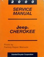 2000 Jeep Grand Cherokee Service Manual