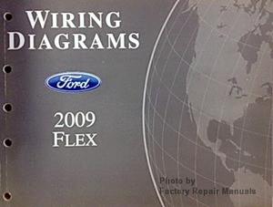 2009 ford flex electrical wiring diagrams original shop manual rh factoryrepairmanuals com 2009 Ford Flex Modules 2009 Ford Flex Modules