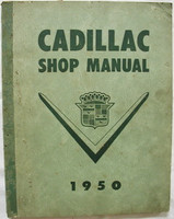 Cadillac Shop Manual 1950