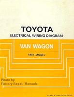 Toyota Electrical Wiring Diagrams Van Wagon 1984 Model