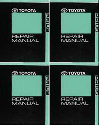 2010 toyota prius factory service manual 4 volume set dealer shop rh factoryrepairmanuals com Toyota Prius Prime 2017 Toyota Prius