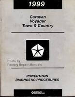 1999 Chrysler Town & Country Caravan Voyager Powertrain Diagnostic Procedures - Original Shop Manual
