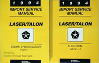 1994 Import Service Manual Laser/Talon