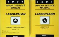 1994 Import Service Manual Laser/Talon