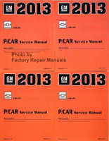GM 2013 Chevrolet Cruze P/Car Service Manual Volume 1, 2, 3, 4