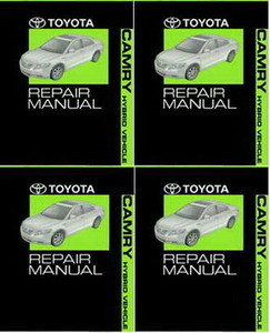 2007 toyota camry hybrid factory service manual 4 volume set rh factoryrepairmanuals com toyota camry hybrid 2012 owners manual toyota camry hybrid owners manual