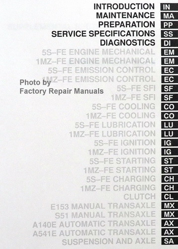 95 Camry Factory Service Manual