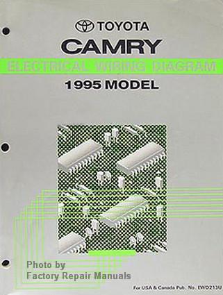 1995 toyota camry electrical wiring diagrams original factory manual rh factoryrepairmanuals com 1999 Toyota Camry Wiring Diagram 1999 Toyota Camry Wiring Diagram