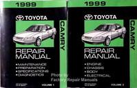 1999 toyota camry solara factory service manual set original shop rh factoryrepairmanuals com 1999 toyota camry repair manual free download 99 camry repair manual pdf