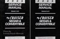 2005 Service manual PT Cruiser & Convertible Volume 1, 2