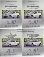 2007 Chrysler PT Cruiser Factory Service Manual 4 Vol Set - Original Shop Repair