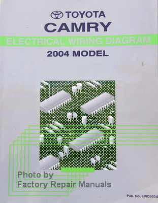 2004 toyota camry electrical wiring diagrams original factory rh factoryrepairmanuals com 2000 Toyota Camry Wiring Diagram 1986 Toyota Camry Wiring Diagram