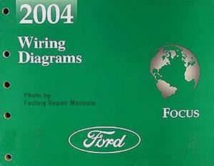 2004 ford focus electrical wiring diagrams original factory manual rh factoryrepairmanuals com wiring diagram for 2004 ford focus stereo radio wiring diagram 2004 ford focus