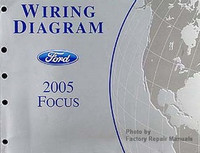 2005 ford focus factory service manual original shop repair rh factoryrepairmanuals com Residential Electrical Wiring Diagrams Simple Wiring Diagrams
