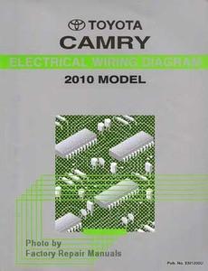 2010 toyota camry electrical wiring diagrams original factory rh factoryrepairmanuals com Fog Light Wiring Diagram 2010 Toyota Camry Radio Troubleshooting