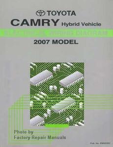 2007 toyota camry hybrid electrical wiring diagrams original rh factoryrepairmanuals com toyota yaris hybrid wiring diagram toyota auris hybrid wiring diagram