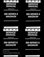 2005 Chrysler 300 300C Dodge Magnum Factory Service Manual Set - Original Repair