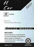 2007 Buick Lucerne Factory Shop Service Repair Manual 3 Volume Set