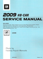 2009 Buick Lucerne Factory Shop Service Repair Manual 3 Volume Set