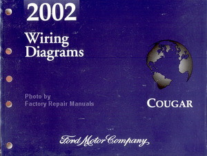 2002 mercury cougar electrical wiring diagrams original. Black Bedroom Furniture Sets. Home Design Ideas