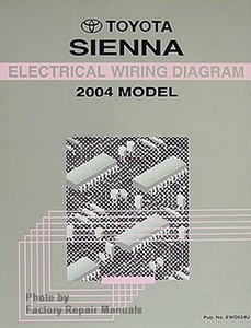 2004 toyota sienna electrical wiring diagrams original shop manual rh factoryrepairmanuals com 2004 toyota sienna stereo wiring diagram 2004 toyota sienna ac wiring diagram
