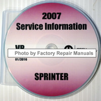 2007 Service Information Dodge Sprinter