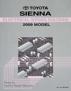 2009 Toyota Sienna Electrical Wiring Diagrams - Original ...
